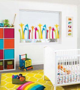 Children's Room Roller Blind